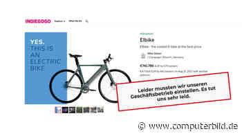 Crowdfunding: Projekt Elbike gescheitert – was jetzt?