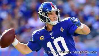 Eli Manning returns, Giants rule out Daniel Jones