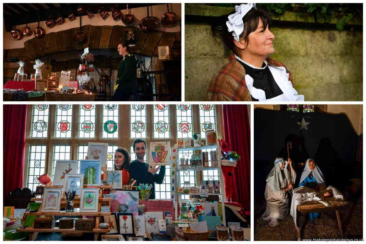 PHOTO GALLERY: Christmas fun at Bolling Hall's Winter Wonderland and Clayton Dickensian Market