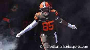 Browns activate David Njoku