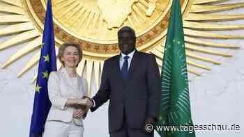 Von der Leyen für gleichberechtigte Partnerschaft mit Afrika