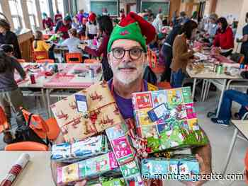 Little Elves spend weekend wrapping 5,000 gifts for people living with AIDS