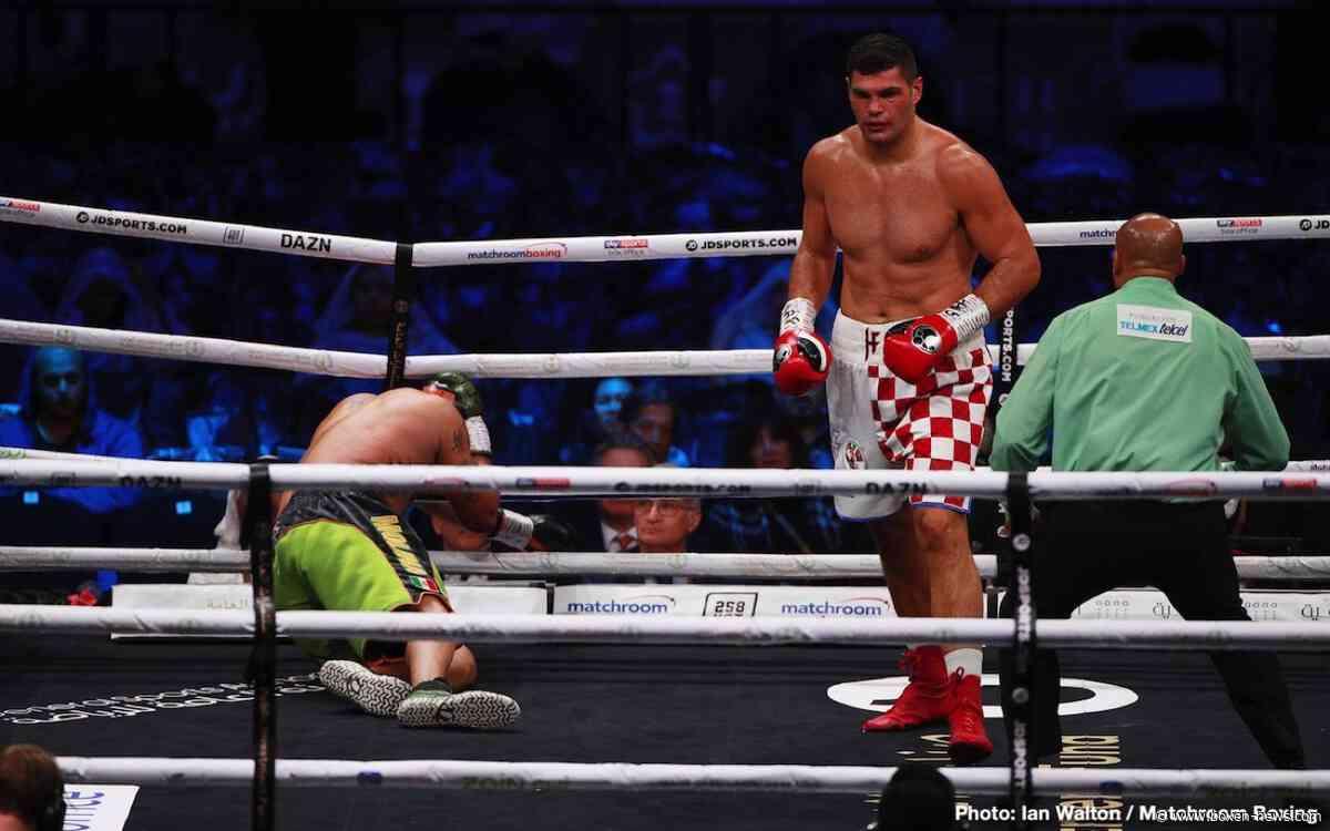 Filip Hrgovic vs Molina: KO sieg In Runde 3 Für Kroatisches Schwergewicht