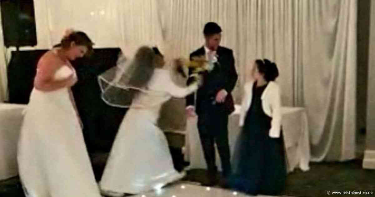 'It should have been me' - Woman dressed as bride burst into couple's wedding reception