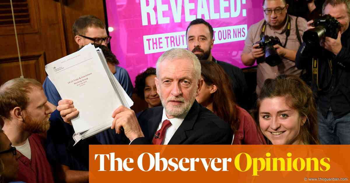 'This is our last chance to keep the NHS as it was entrusted to us' | Jeremy Corbyn