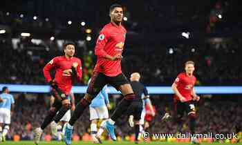 Marcus Rashford hails Manchester United's display in thrilling win over Manchester City