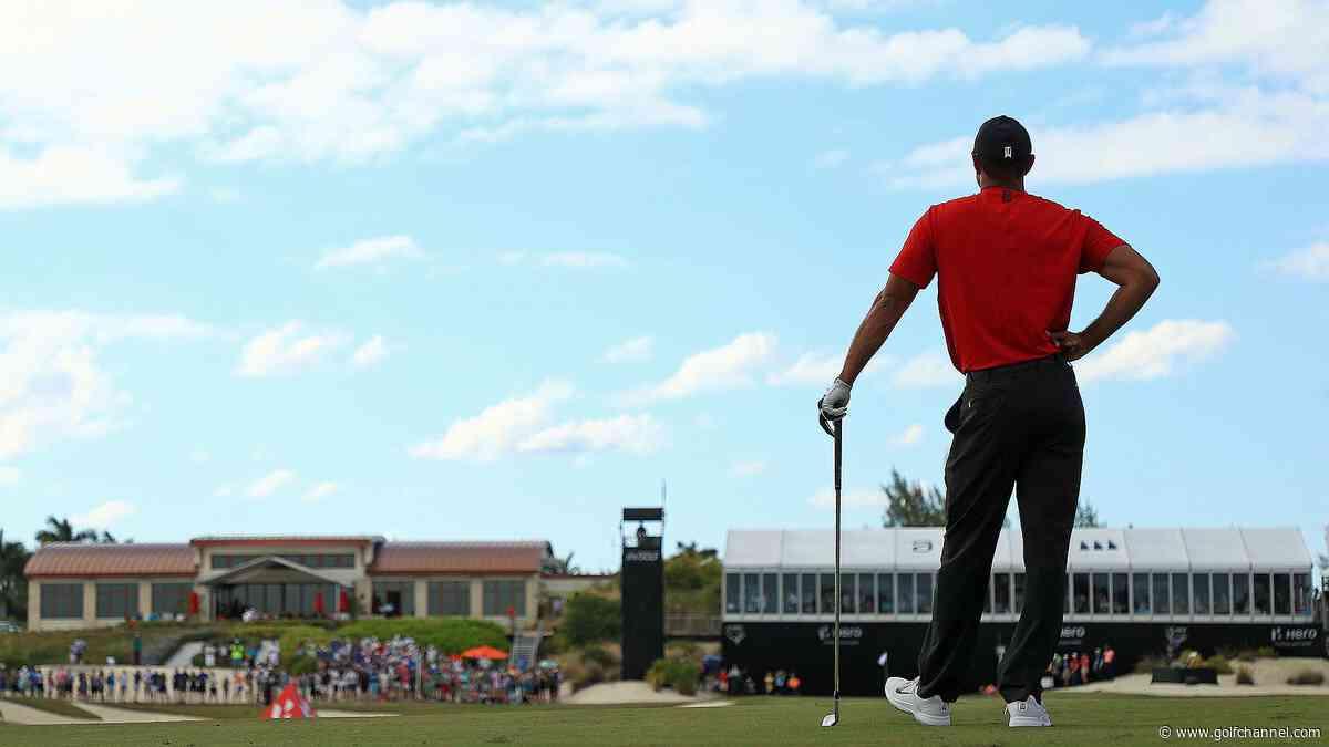 Lack of back-nine hero shots costs Woods shot at Hero World Challenge title