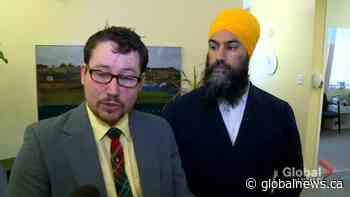 NDP Leader Jagmeet Singh visited Fredericton in support of abortion clinic