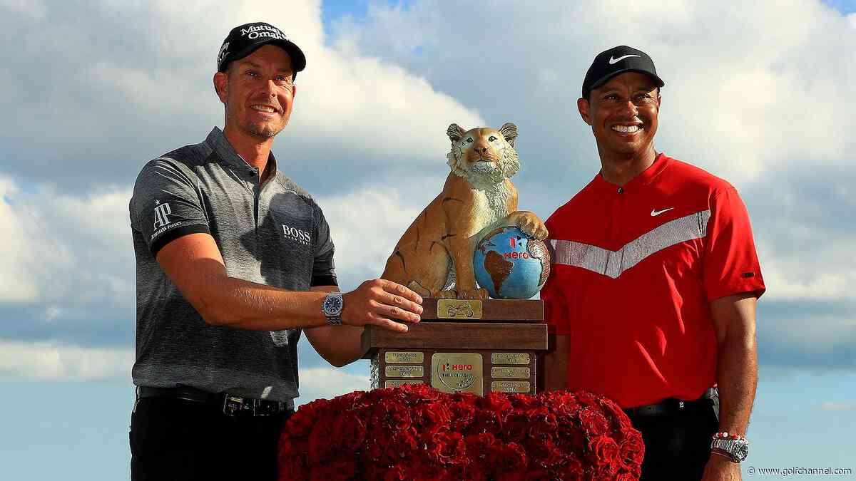 Guess who's back, back again: Stenson, 43, shows ability to persevere at Hero