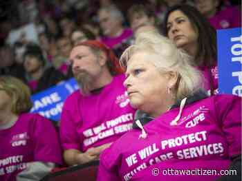 'These are political choices': Rally against health care cuts draws hundreds