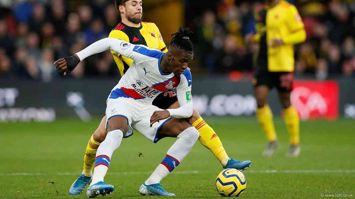 Watch free highlights of Palace's battling draw with Watford