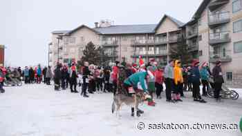 Annual Santa Shuffle fundraising run sees record turnout