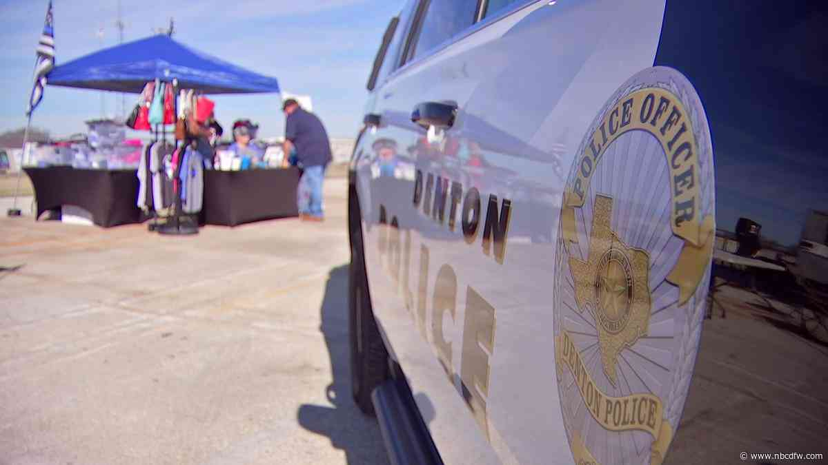 Community Holds Fundraiser to Support Denton Officer Shot