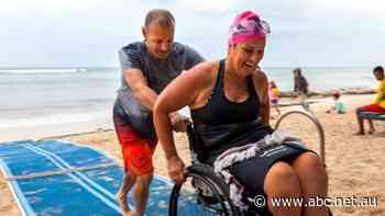 'I haven't been onto the beach at all': Calls for more accessibility for disabled tourists