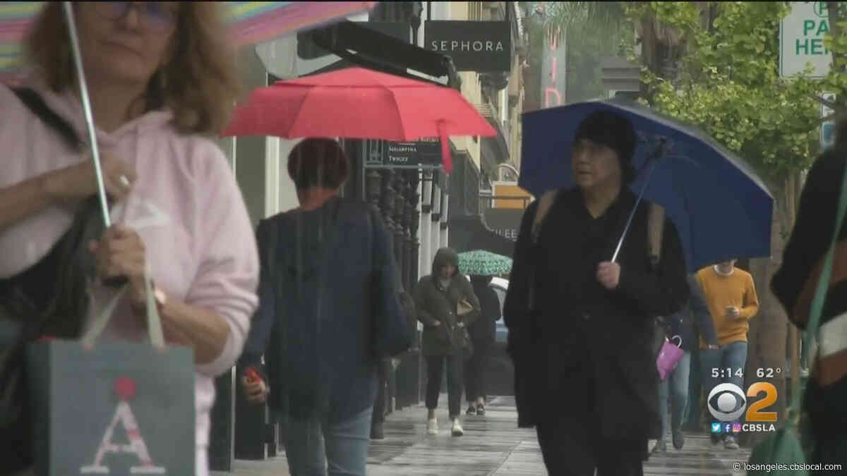 'Feels Like Winter': Scattered Storms Soak Parts Of SoCal