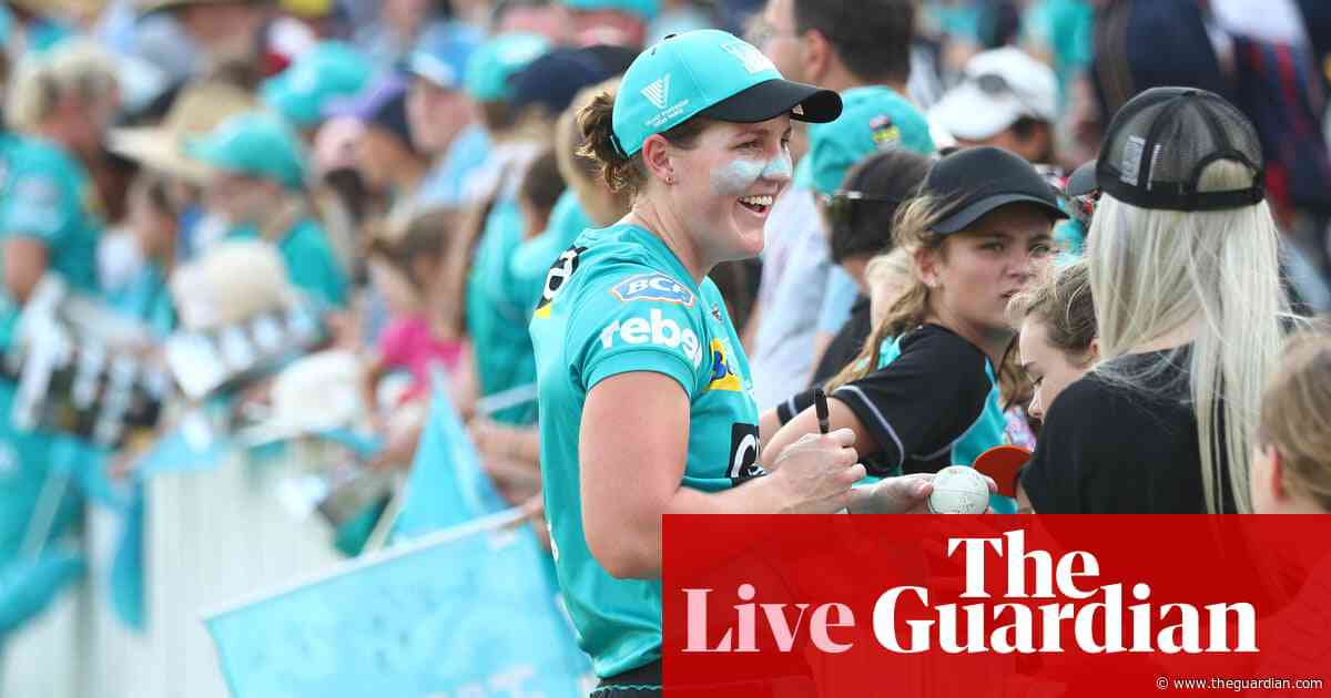 WBBL final: Brisbane Heat v Adelaide Strikers - live!