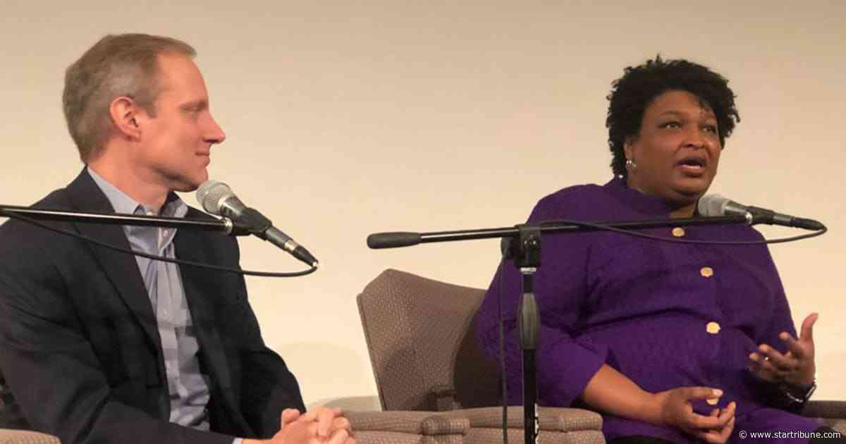 Democrat Stacey Abrams to Minnesotans: Watch out for voter suppression in 2020