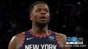 Knicks fumble away last possession and fall to Pacers