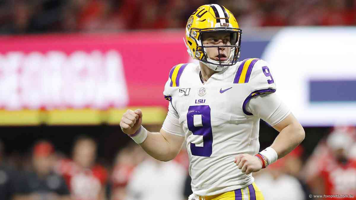 QB Joe Burrow will go No.1 in next year's NFL Draft. Plays like this are why