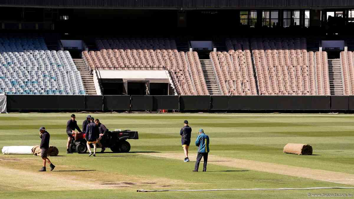 Shield Test cancelled, but unplayable MCG pitch 'will be fine for Boxing Day'