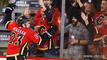 Flames hold off Kings to win 4th straight under interim head coach Geoff Ward