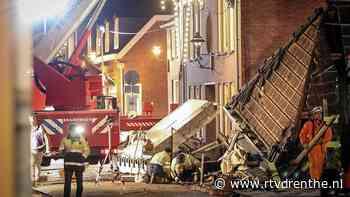 Politie onderzoekt maandag oorzaak ontploffing in Coevorden