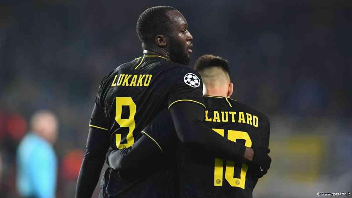Inter-Barcellona: Lukaku e Lautaro sotto i riflettori