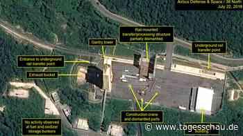 "Nordkorea meldet ""wichtigen Test"""