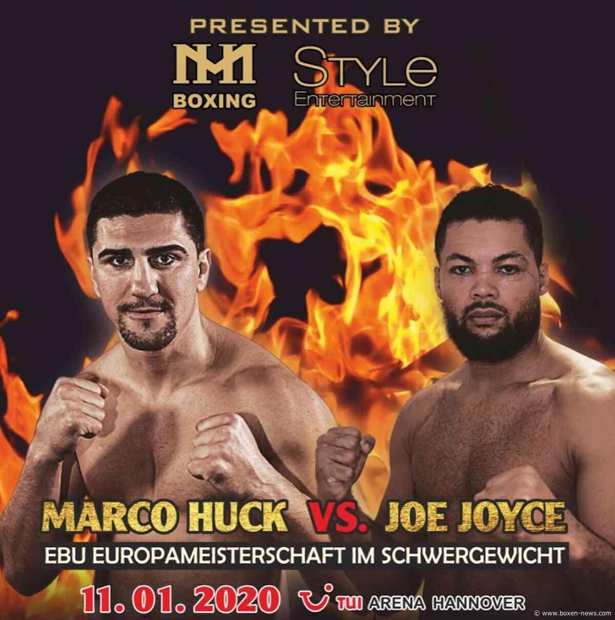 Marco Huck boxt gegen Joe Joyce  am 11. Januar in Hannover