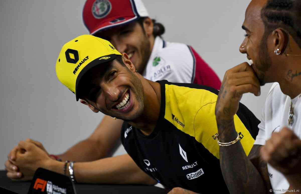 Olav Mol vindt Ricciardo te weinig brengen: 'De clown van de paddock willen zijn, is niet goed genoeg'