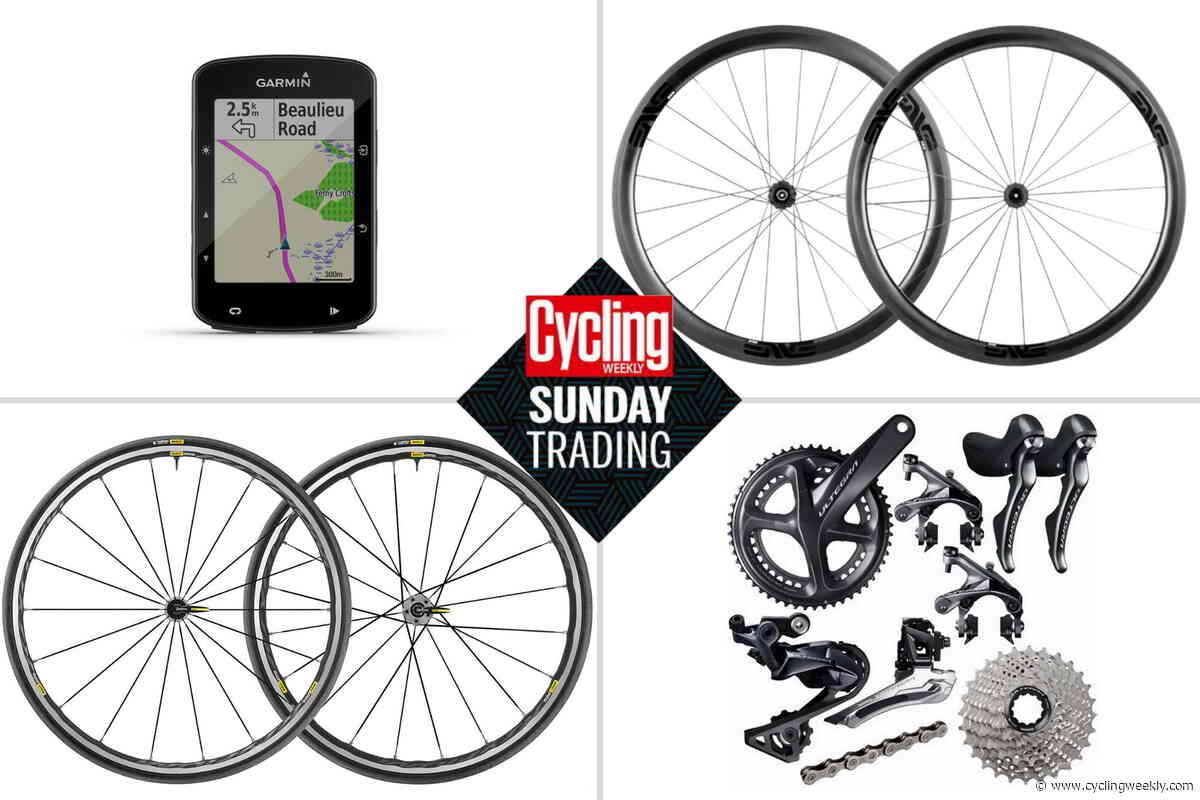 Sunday trading: Get a set of ENVE carbn climbing wheels a 50% off
