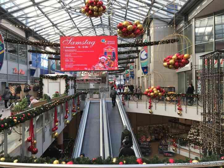 Weihnachtlicher verkaufsoffener Sonntag in der Spree Galerie Cottbus