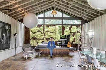 Haiku artist's retreat provides sanctuary for colossal sculptures