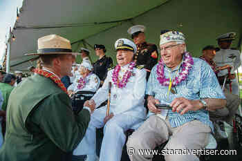 USS Arizona crewmember likely last one to be buried with ship