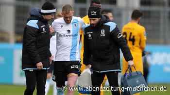 Leihspieler des TSV 1860: Rückschlag für die Löwen: Tim Rieder fällt mehrere Wochen aus