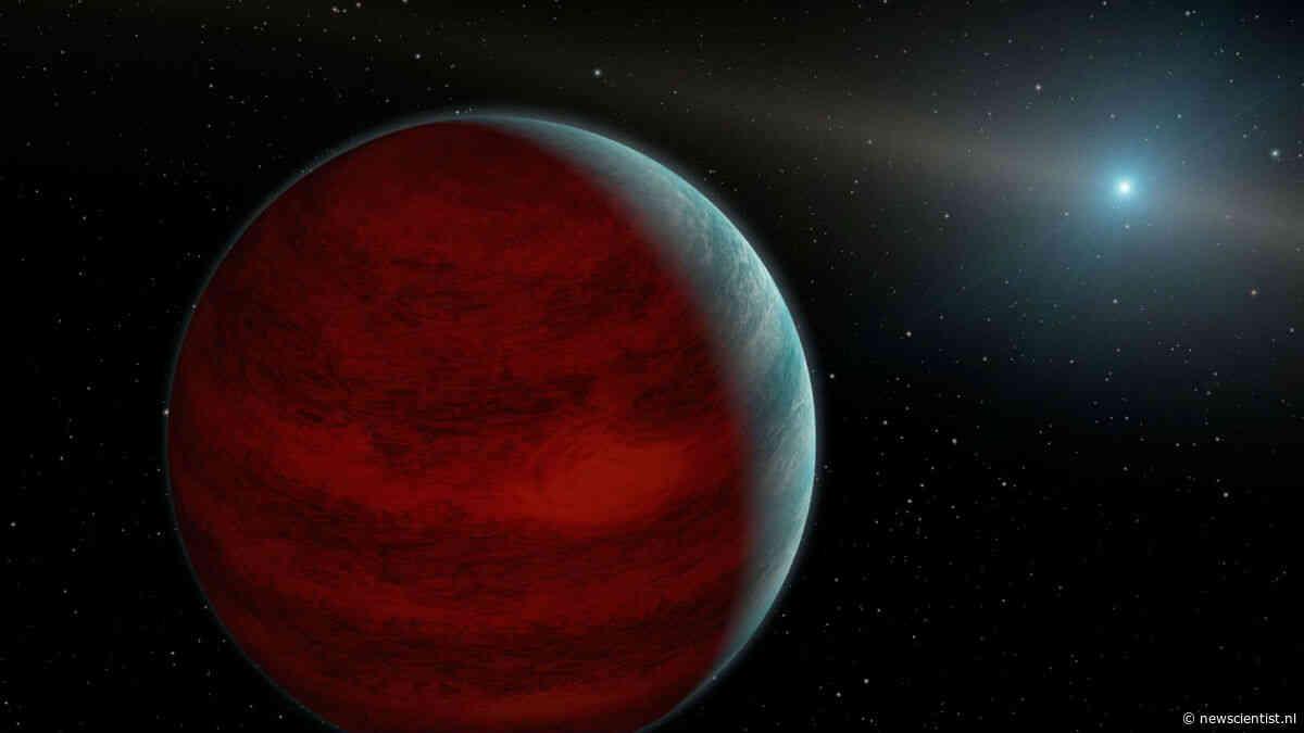 Eerste planeet bij geëxplodeerde ster gevonden