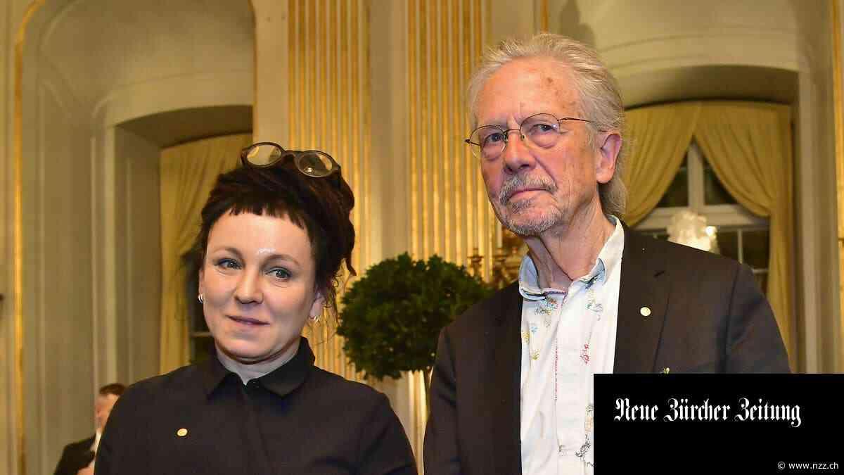 Peter Handke tritt in Stockholm auf und weicht unangenehmen Fragen aus