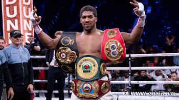 Oliseh, Kanu and Nigeria legends celebrate Joshua after reclaiming heavyweight titles