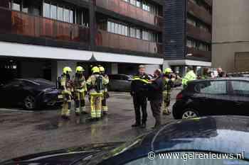 Brand in flat in Nijmegen, ontruiming gaande