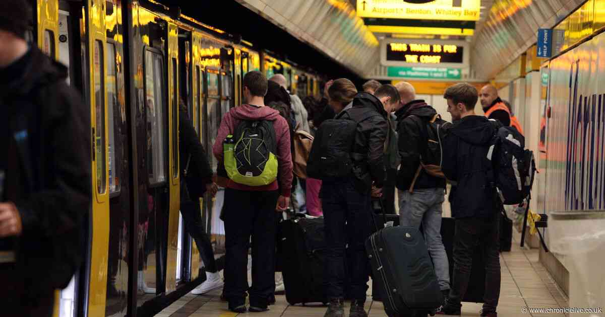 North East news LIVE: Delays on the Metro due to train taken out of service