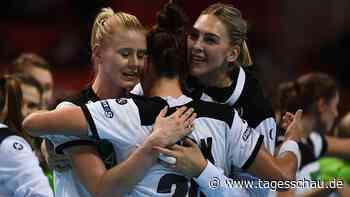 WM: Deutsche Handball-Frauen schlagen die Niederlande