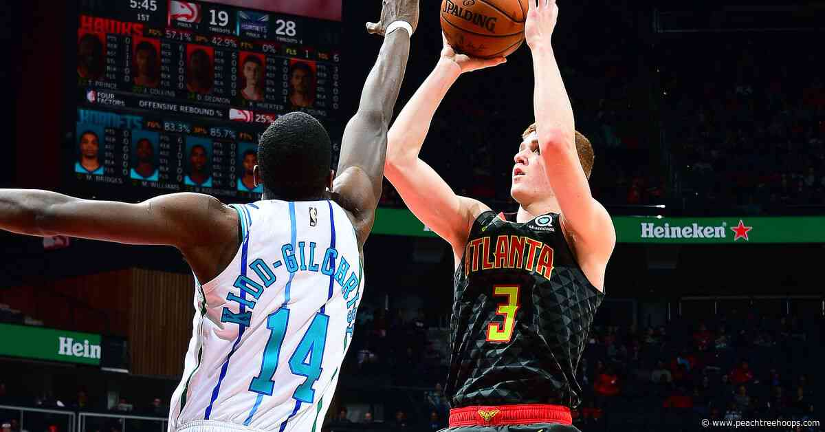 Game 23: Hawks at Hornets