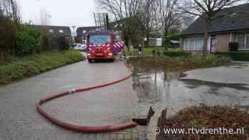 Wateroverlast door verstopt riool in Emmen