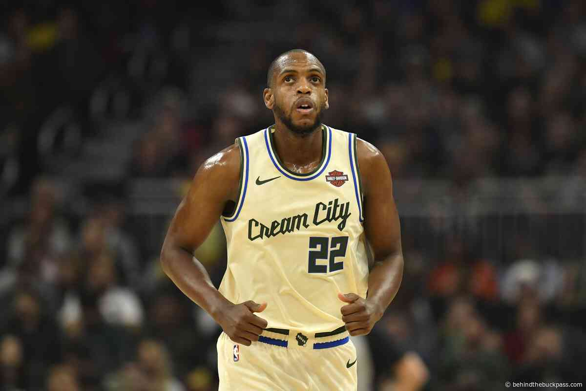 Khris Middleton picking up right where he left off