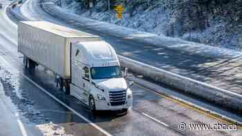 A tough commute renews debate around winter tires for transport trucks