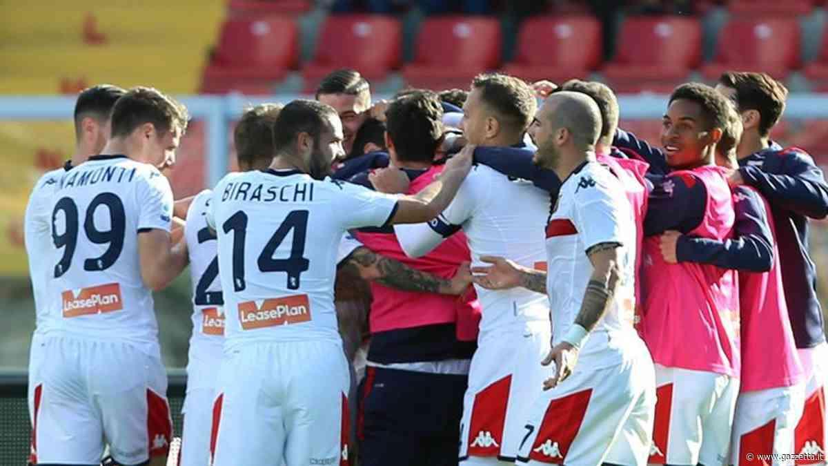 Serie A, Lecce-Genoa 2-2: Falco e Tabanelli rispondono a Pandev-Criscito