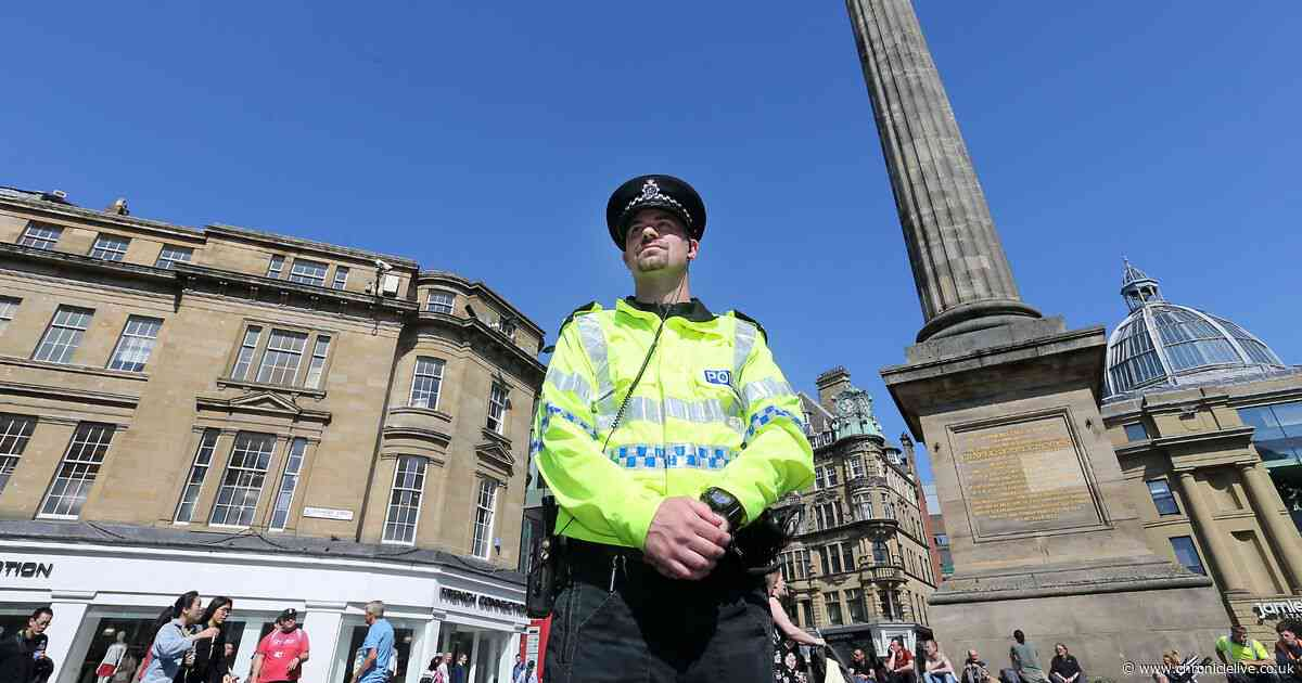 Police working to identify men in Newcastle brawl as officers condemn violent behaviour