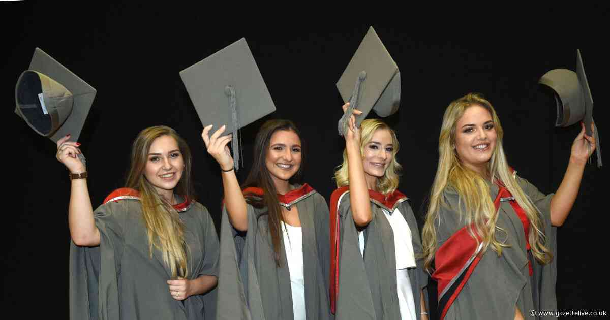 40 great pictures from Middlesbrough College's graduation ceremony 2019