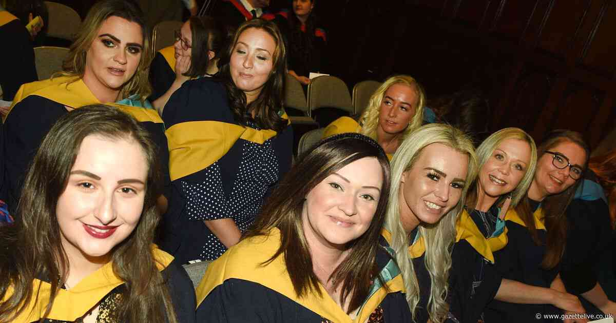 40 pictures from Middlesbrough College's graduation ceremony 2019