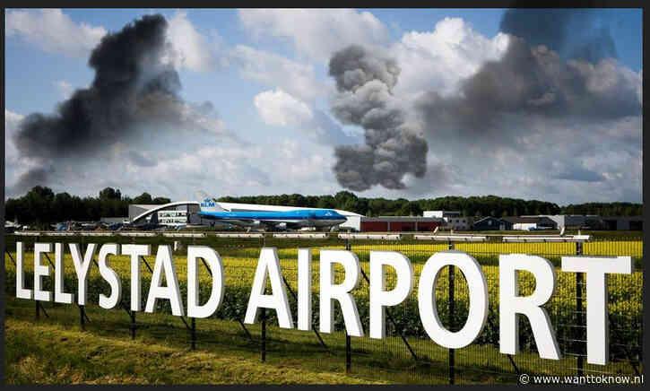 """""""Opnieuw oplichterij om Lelystad-airport te creëren!""""…."""